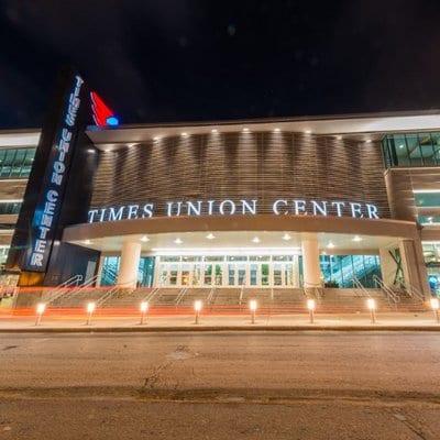 Times Union Center main entrance